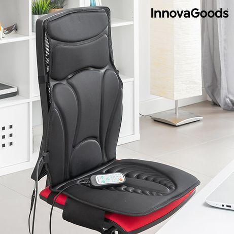 Assento de Massagem Térmico Shiatsu