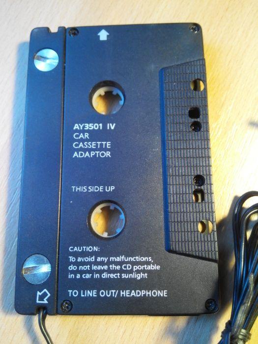 Кассета адаптер, переходник AUX 3.5 Одесса - изображение 1