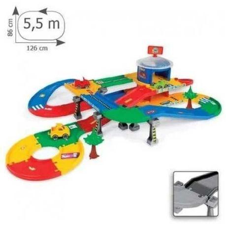 Детский игровой набор гараж с трассой Kid Cars  3D