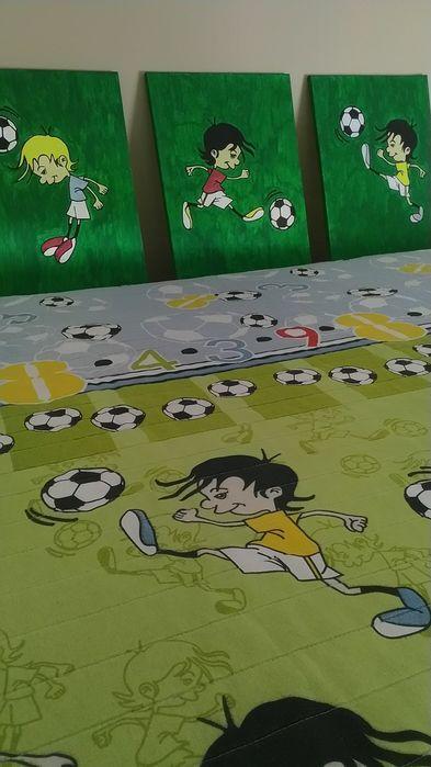Colcha futebol - quadros oferta Arca E Ponte De Lima - imagem 1