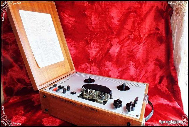 Magnetofon szpulowy Tesla B117 Made in Czechoslovakia