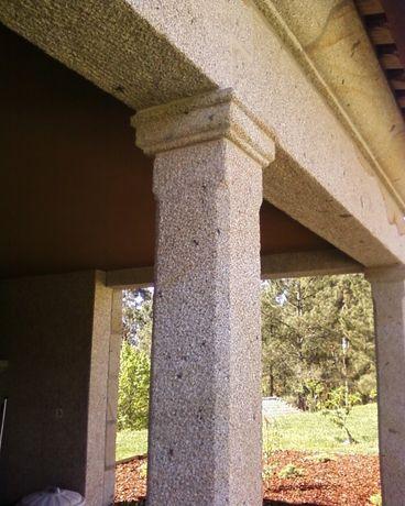 Colunas em granito nos mais variados modelos