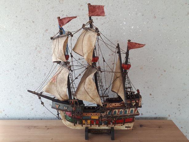 Model okrętu Peter von Danzing statku żaglowca zabytek