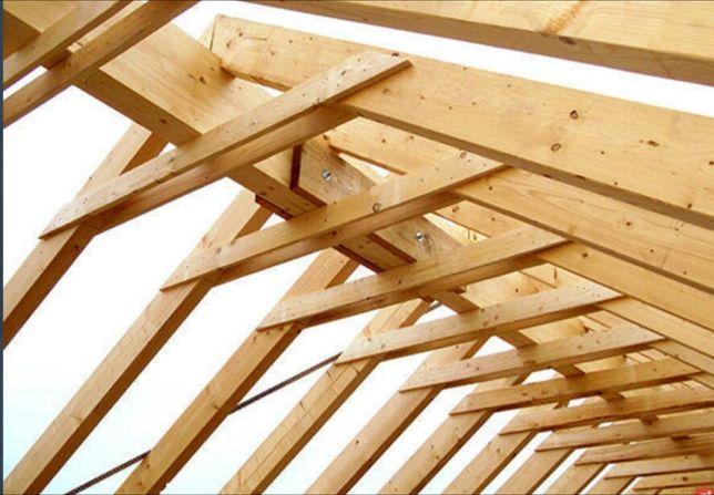 Więźba dachowa drewno konstrukcyjne