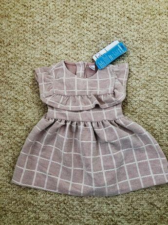 Платье на девочку 9-12