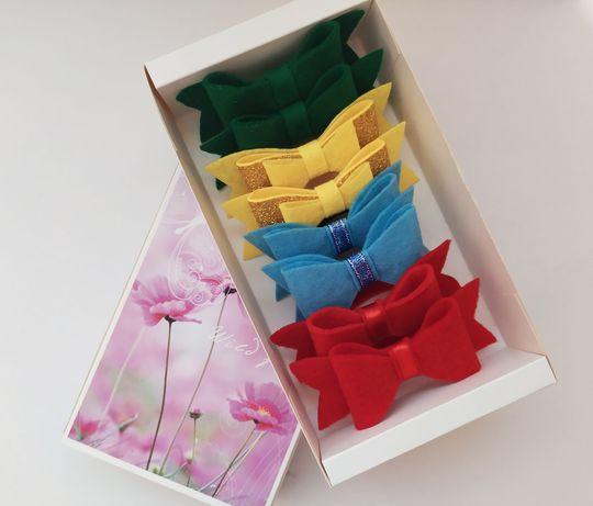 Набор бантиков-резиночек для маленьких принцесс