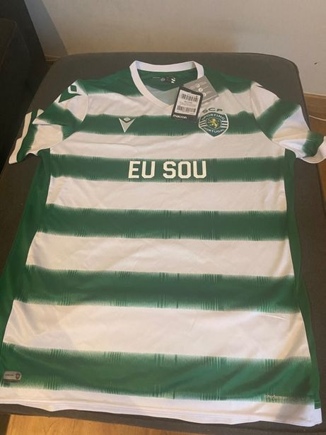Camisola Oficial Sporting 2020/2021