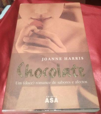 "Livro ""Chocolate"", Joanne Harris"