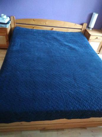 Łóżko160x200 materac dwie szafki nocne + gratisy!