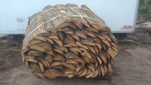 drewno opałowe/ kominkowe DĄB OFLISY -  paczki 1,65 m3