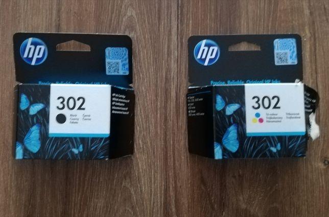 Tusz HP 302 czarny + kolor