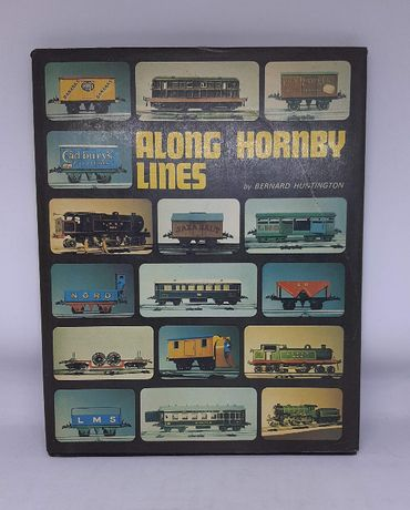 "Książka / Katalog 'Along Hornby Lines"" kolejki elektrzyczne Hornby"