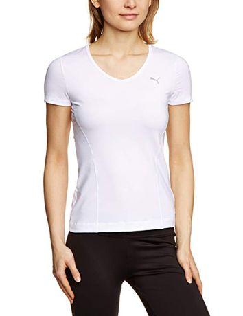 PUMA top damski T-Shirt ESS Gym Tee biały XL