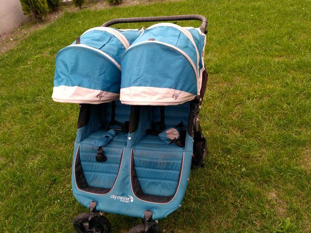 Baby jogger CM Double gt bliźniaczy bliźniaki bliźnięta rok po roku