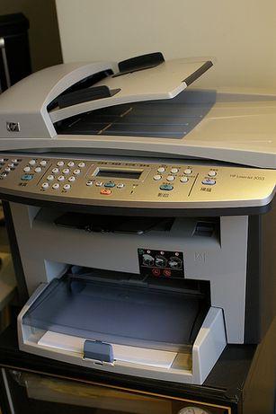 В отличном состоянии МФУ HP LaserJet 3055 с оригинальным картриджем