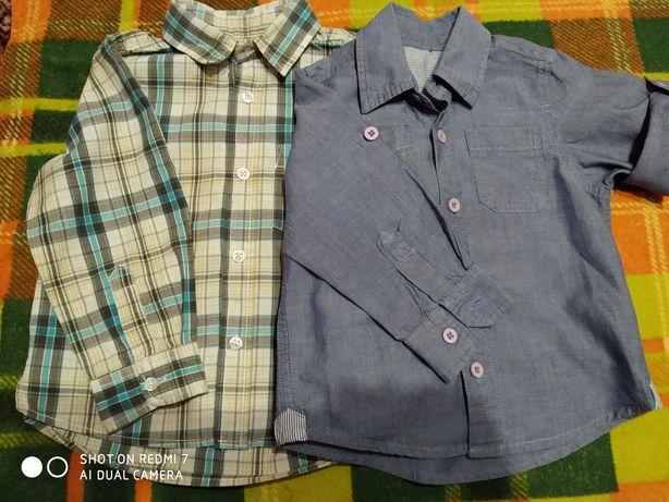 Рубашка  80 і 98 см