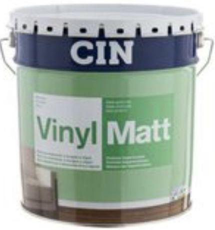Vinylmatt branco 15Lts CIN (tinta aquosa)