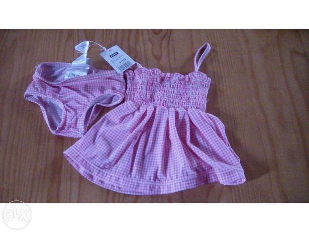 Vestido novo da zippy para menina 0-1 mes