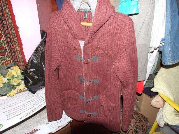 кофта - куртка с капюшоном,очень теплая( продажа/обмен )