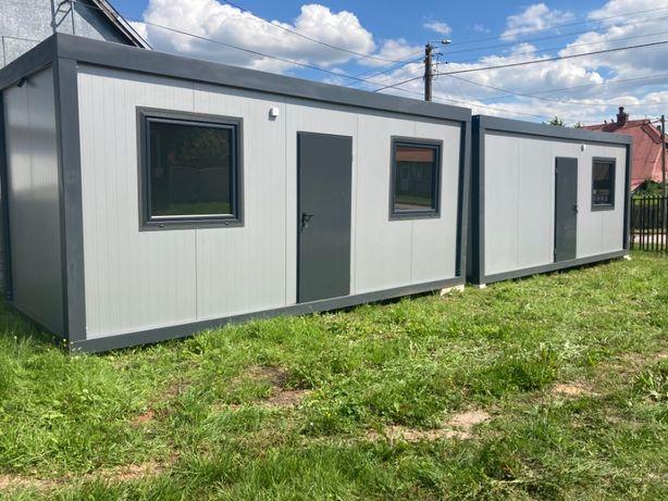 Nowy kontener socjalny biurowy budowlany 6x2,5
