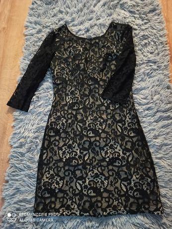Sukienka tunika czarna