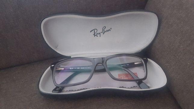 okulary korekcyjne RAY BAN oryginalne z etui i chusteczka, szkła -1