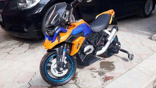 Электромотоцикл детский б/у GS 1200 в хорошем состоянии.
