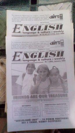журнал англійська мова english language weekly culture 2006