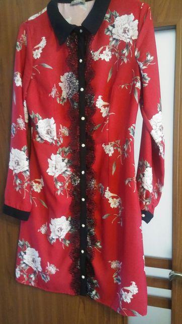 Sukienka Orsay, kwiaty r.38