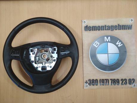 Кермо з підігрівом BMW F10 F11 рулевое колесо руль БМВ Ф10 Ф11 шрот