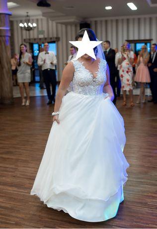 Suknia sukienka ślubna rozmiar 38 ślub wesele