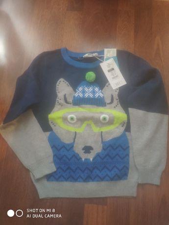 Nowy sweter dla chłopca rozmiar 128, 7-8 lat, Smyk