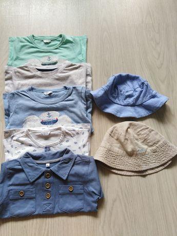 Koszulki krótki rękaw, t-shirt, bluzka, kapelusz