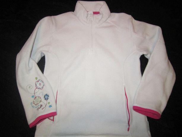 Bluza, polar dla dziewczynki w rozmiarze 122/128, Quachua