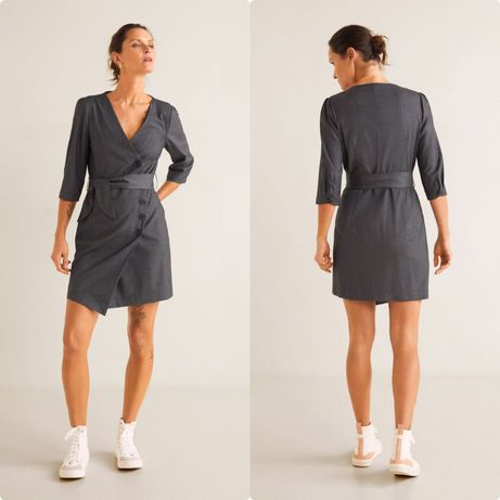 Платье - халат Манго Mango, размер L