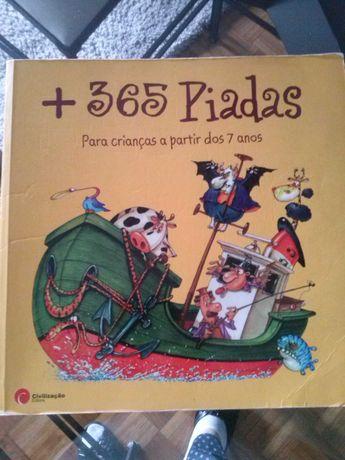 365 piadas - para crianças - portes incluídos