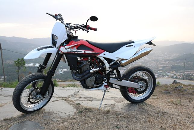 Husqvarna TE 450 ano 2009 - Kit Supermotard e Enduro