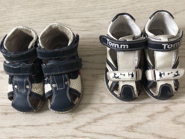 Ортопедические сандали босоножки 20 размер tom m flamingo