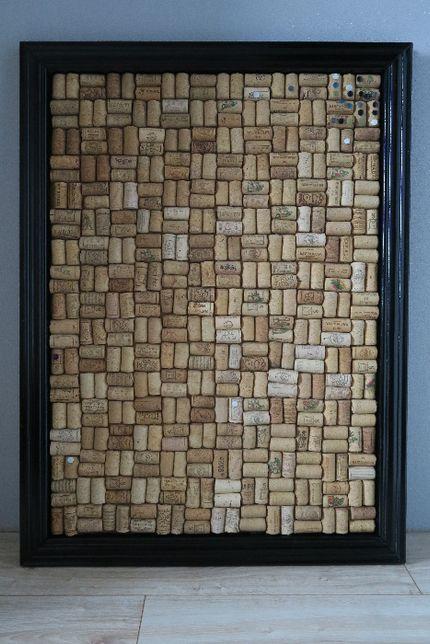 Tablica korkowa z korków po winie 80x59