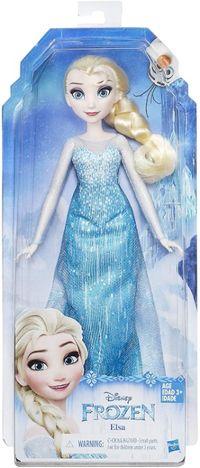 Lalka Elsa Disney Frozen Kraina Lodu w sukni balowej