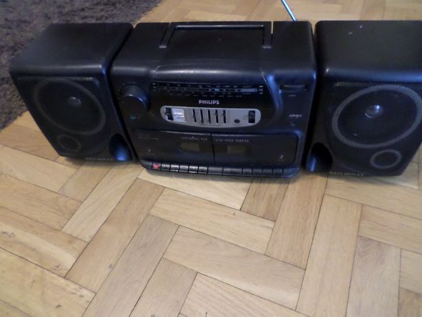 duży radiomagnetofon