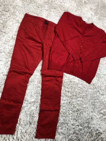 Zestaw 3 szt h&m canda xl spodnie sweter bluzka