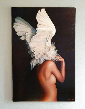 """Картина маслом """"Wings"""". Торг!"""
