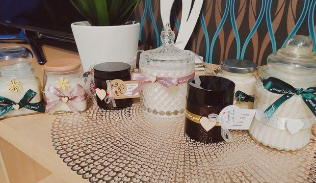Ręcznie robione świece sojowe - Różne zapachy