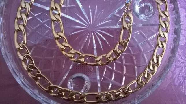 złoty łańcuszek,złota bransoletka,585,14k NOWY figaro rabat cenowy HIT