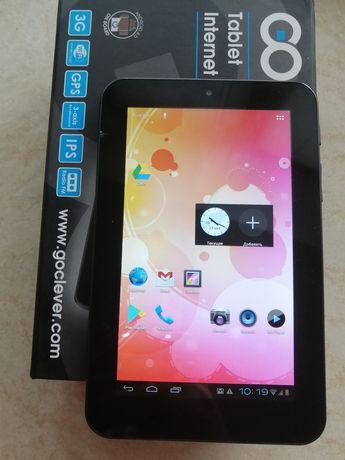 планшет с 3G goclever tab M713G, 1GB/4GB,есть слоты для SD и SIM