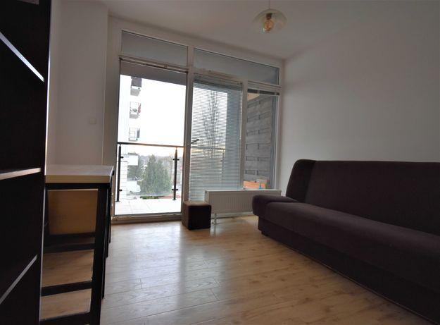 jednoosobowy z balkonem, nowe mieszkanie, wysoki standard, centrum