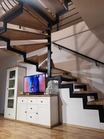 Schody metalowe, loft, nowoczesne, industrialne, zetka
