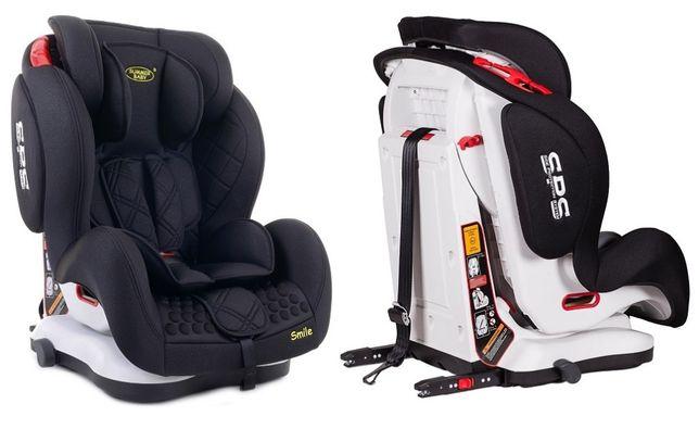 Fotelik samochodowy 9-36kg Summer Baby SMILE Isofix SPS