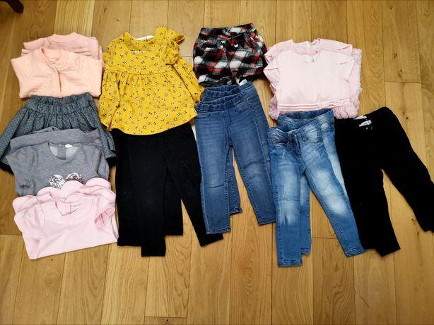Zestaw ubrań 92-98 savannah, Zara, Cool Club Coccodrillo bliźniaczki
